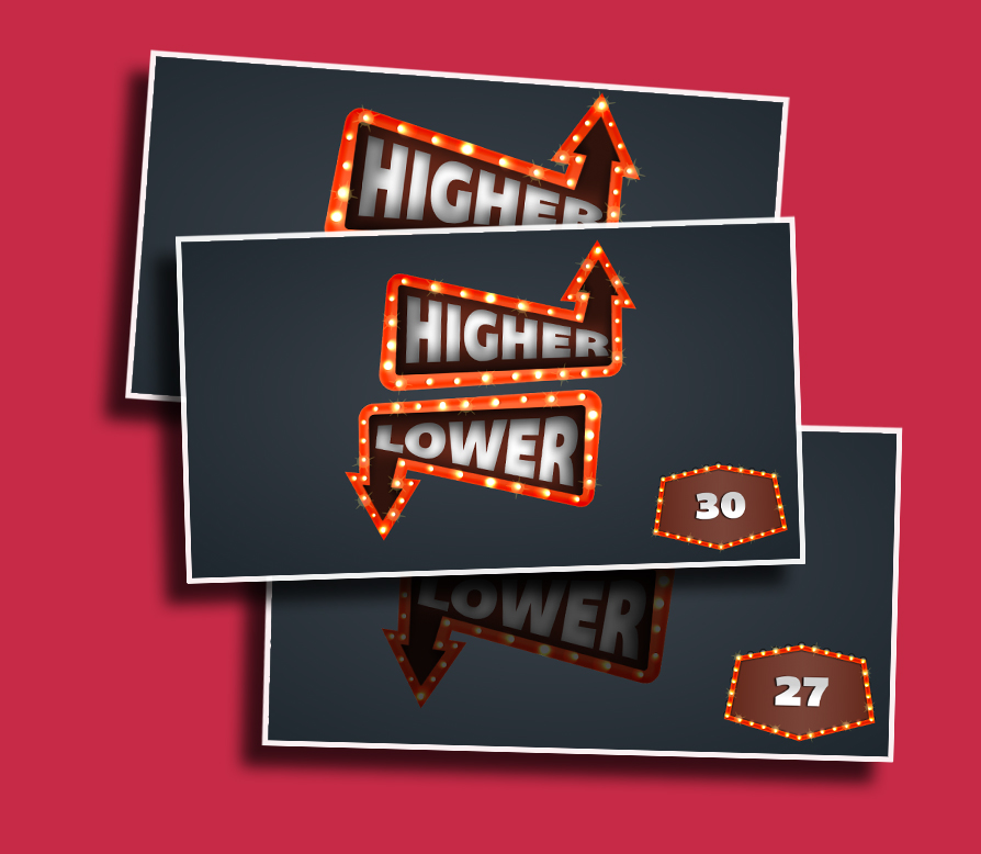 Higher Lower - Guess the number before the time runs out!
