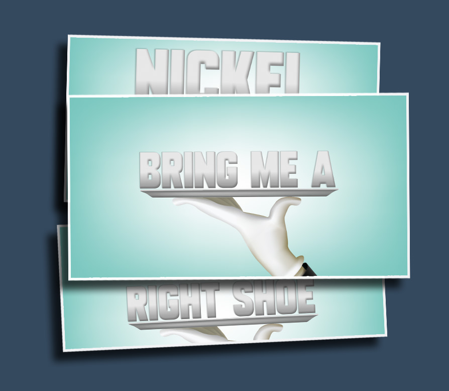 Bring me a… - The first student to bring you a _______, wins! You set up the items and a butler hand brings them in on a silver platter.