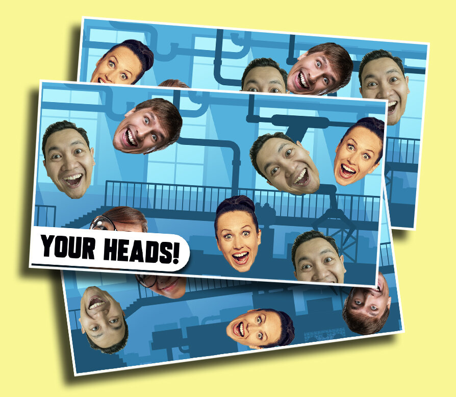 Extreme Head Counting - Lauch your students' heads and see how many can keep track of all of them!