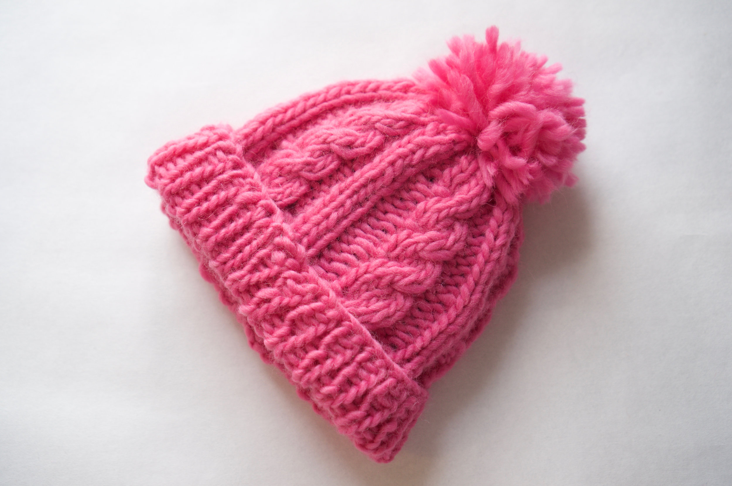 No-fuss Cable Beanie - $4.99