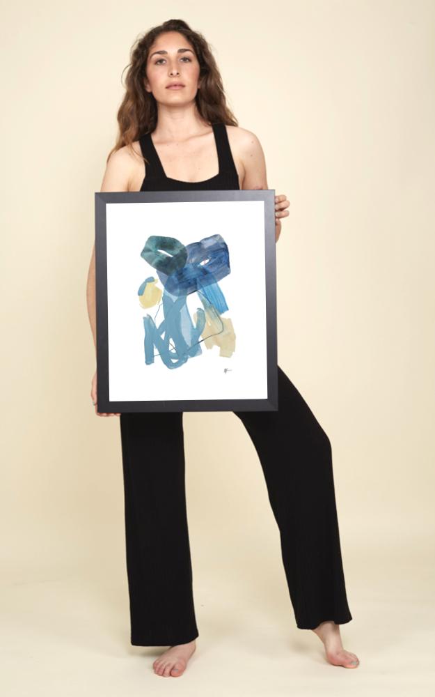 "medium - Artwork 11x14""Print 16x20"