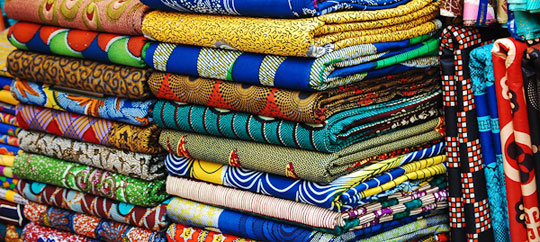 Day 2- Tailoring Culture - Want to leave Lagos with some custom clothing? After our Welcome Breakfast, we'll get oriented to some Lagos history with a tour of the city's art and architecture. Get ready to bustle and haggle in the famous Balogun Fabric Market where you'll buy local fabric. This is one of the biggest markets in Africa: everything happens on the street. Dinner is included.