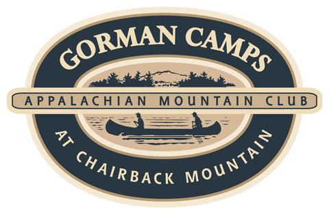 Gorman Camps at Chairback Mountain - Logo - Appalachian Mountain Club