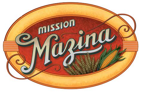 Mission Mazina - Letterform and Illustration