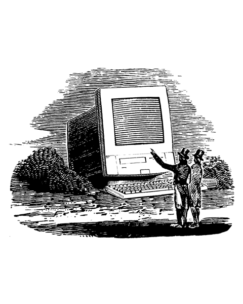 Computers have been around for quite a while now.