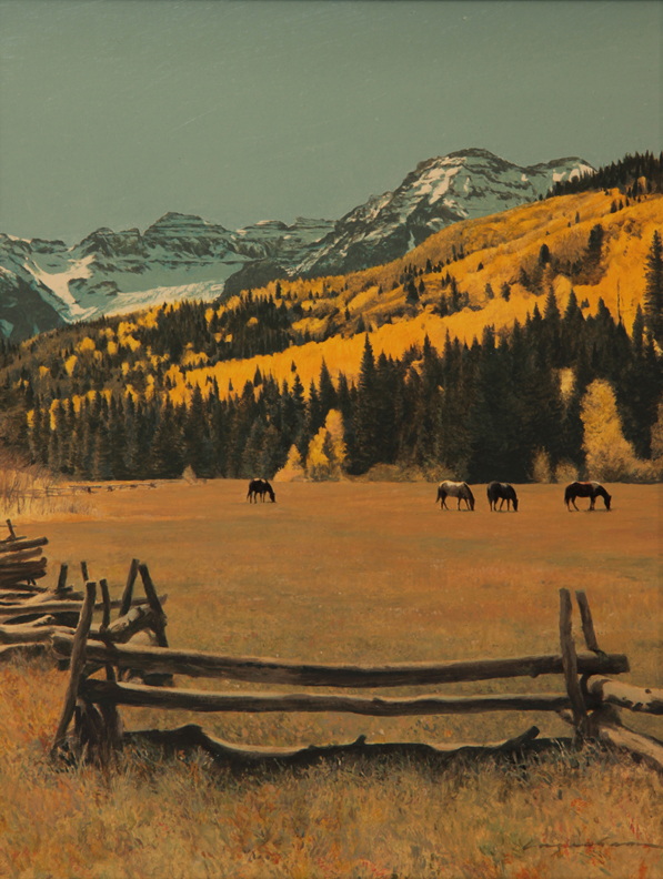 See this in person in Carbondale, Colorado at  The Main Street Gallery