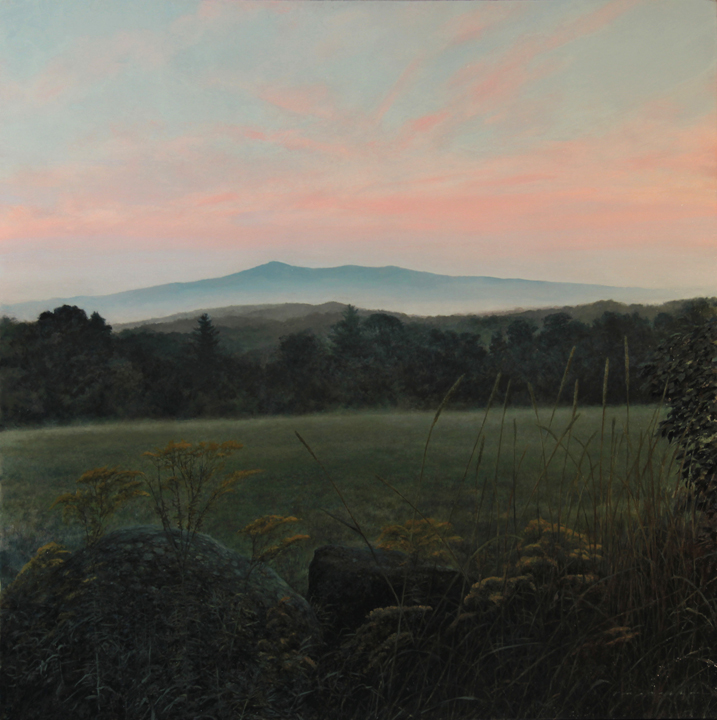 Monadnock Morning Serenity - Oil on Panel