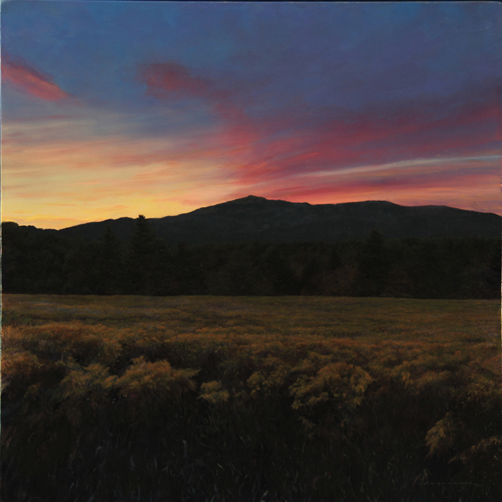 Monadnock Evening Majesty - Oil on Panel