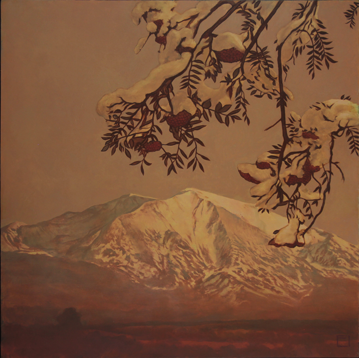 Mount Sopris - Oil on Panel 36 x 36
