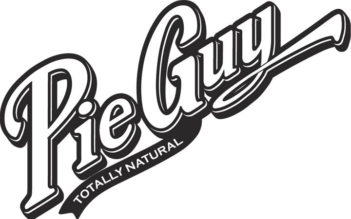 Pie Guy - Totally Natural - Logo