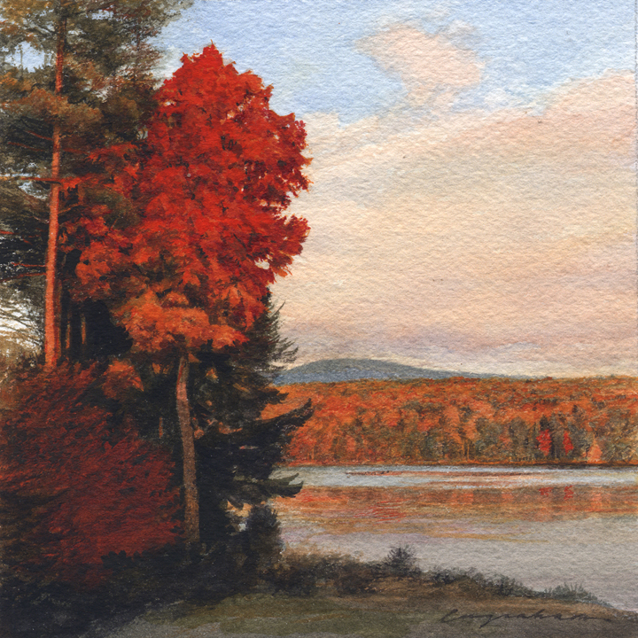 Autumn on Cranberry Meadow Pond (Peterborough, New Hampshire)