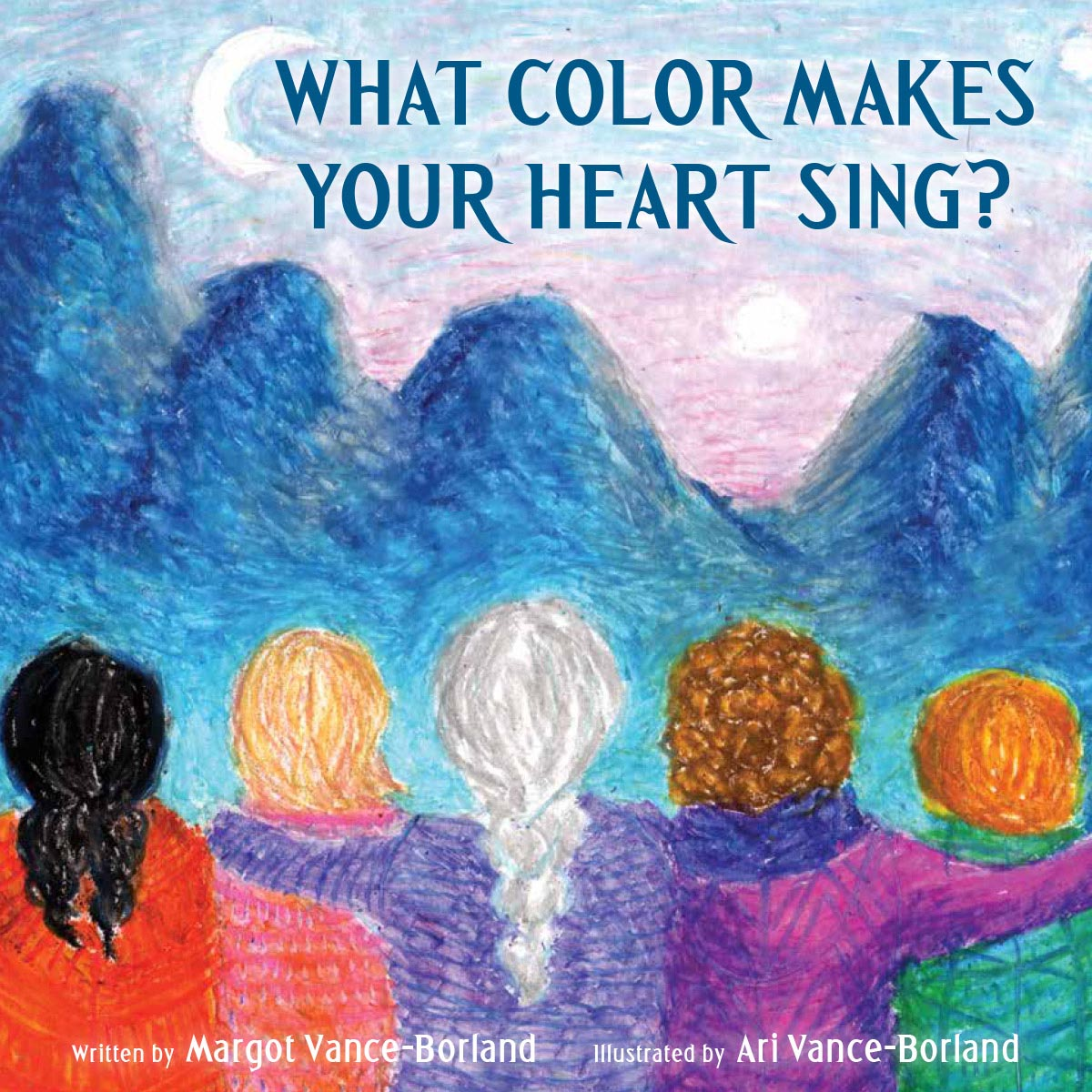 A very special children's book, written by Margot Vance-Borland and illustrated by her daughter.  Click to purchase this book via Amazon , or visit Grass Roots Bookstore in downtown Corvallis to purchase.