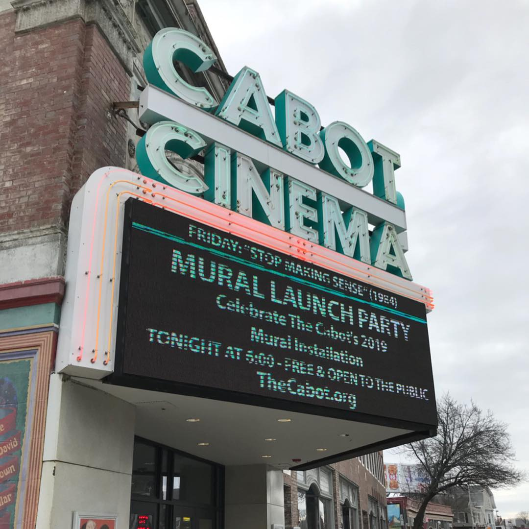 The Cabot Mural Launch Party