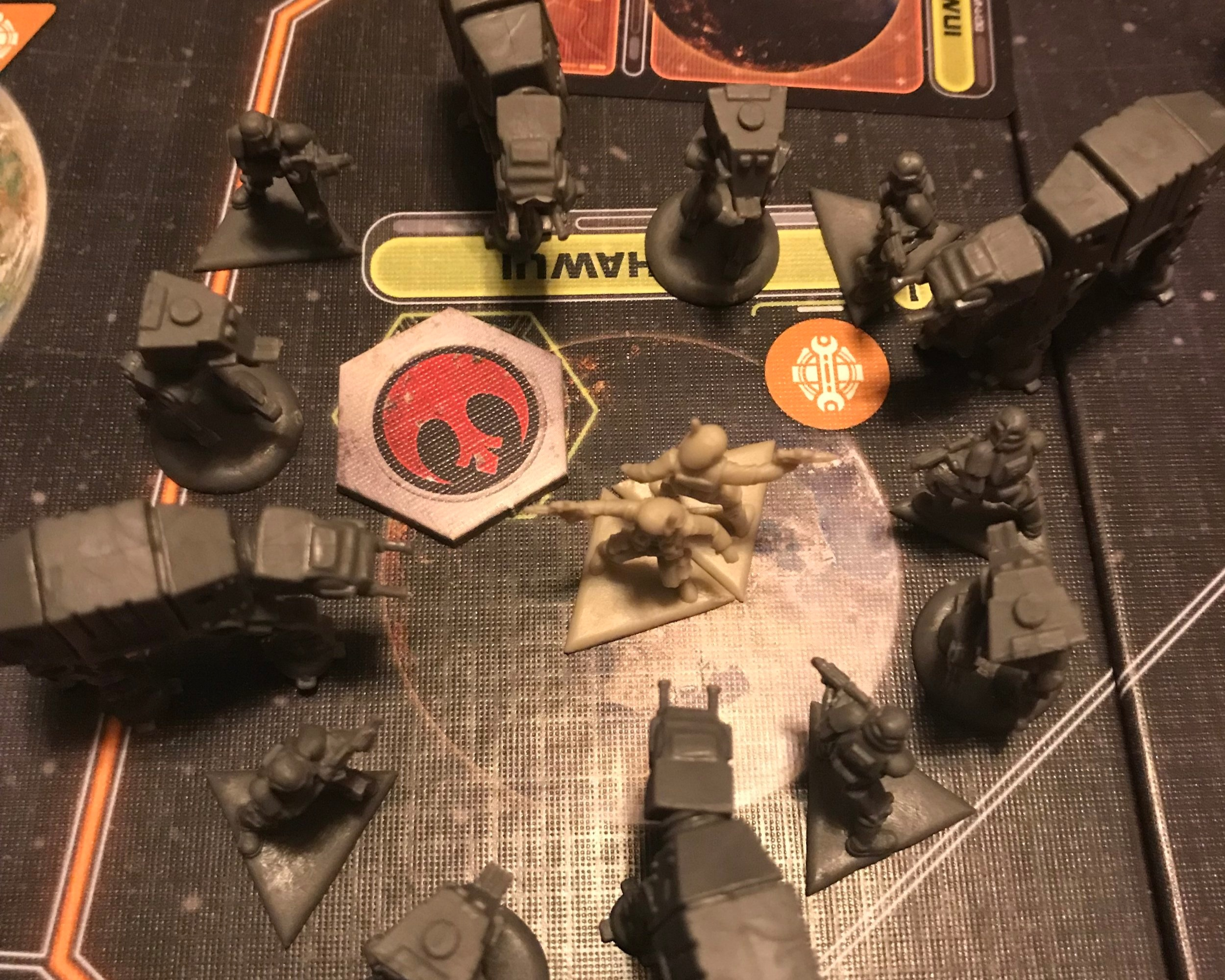 Star Wars Rebellion: the survival of the galaxy depends on you - In this galactic game of hide and seek you will either attempt to hide your rebel base and avoid the galactic empire or you will hunt and destroy the last surviving base of the rebel scum.