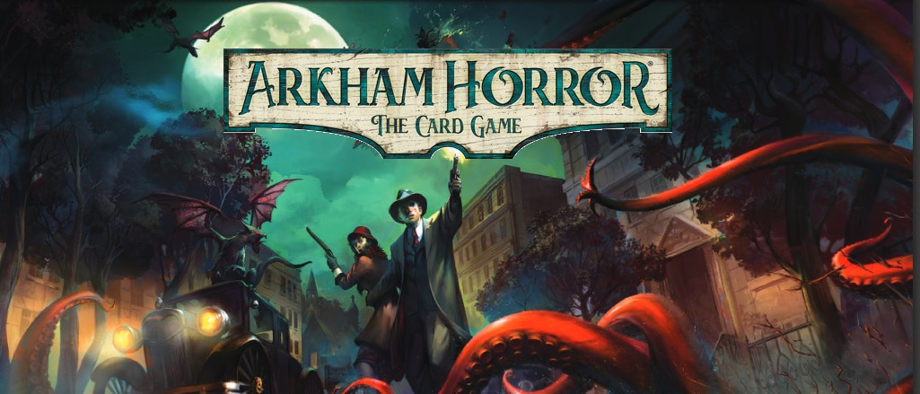 Evil stirs in arkham - You and your friends become characters within the quiet New England town of Arkham.  No matter what compels you, no matter what haunts you, you'll find both your strengths and weaknesses reflected in your custom deck of resource cards, used wisely to unravel the world's most terrifying mysteries.