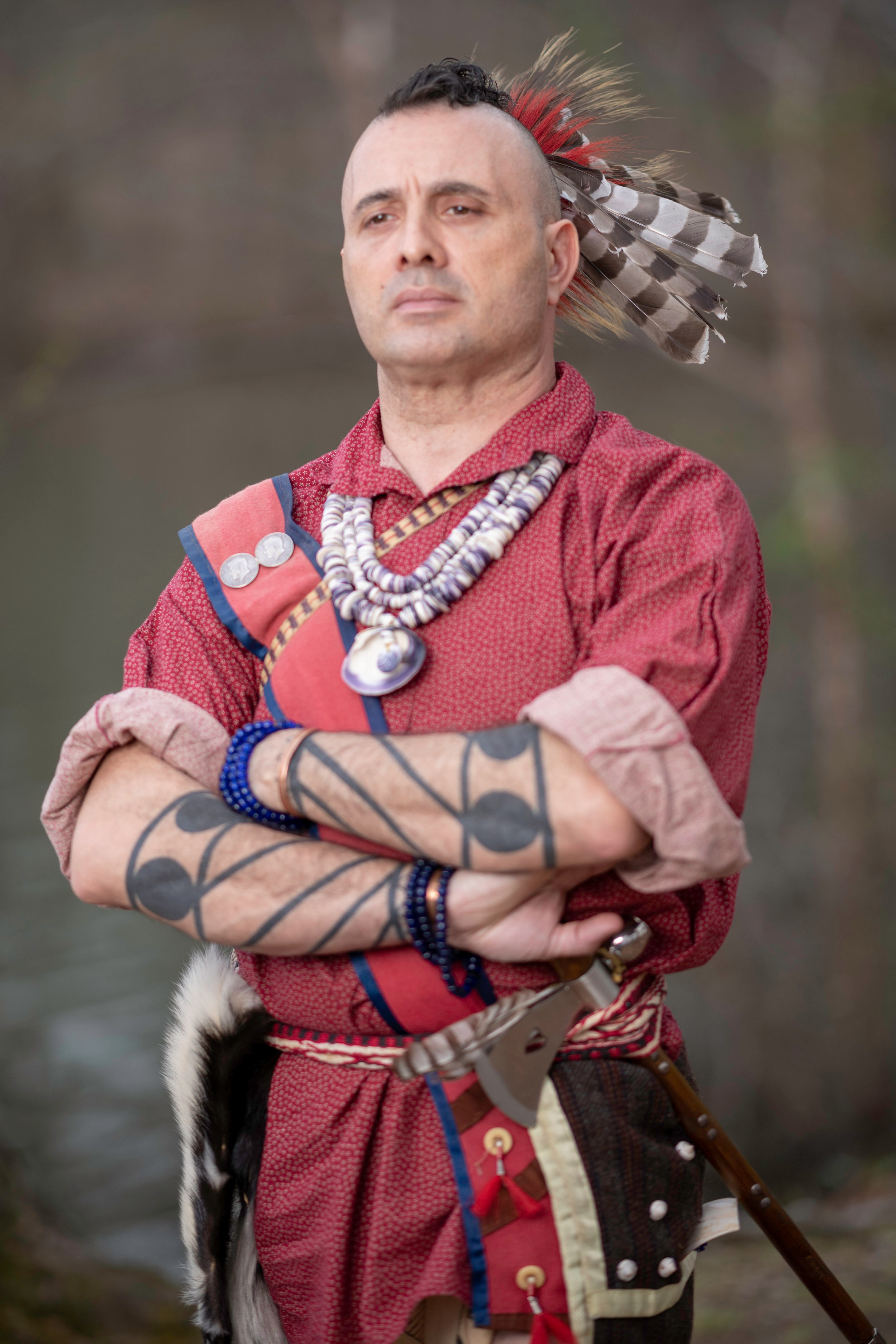 Hartman Deetz (Mashpee Wampanoag)    Photo by Teko Photography