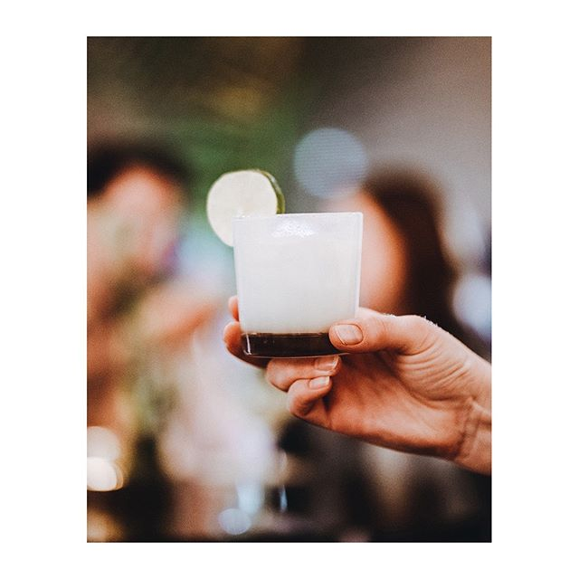 Cheers to *almost* Friday. Coconut Milk Marg anyone? 📷 @halsey.pierce