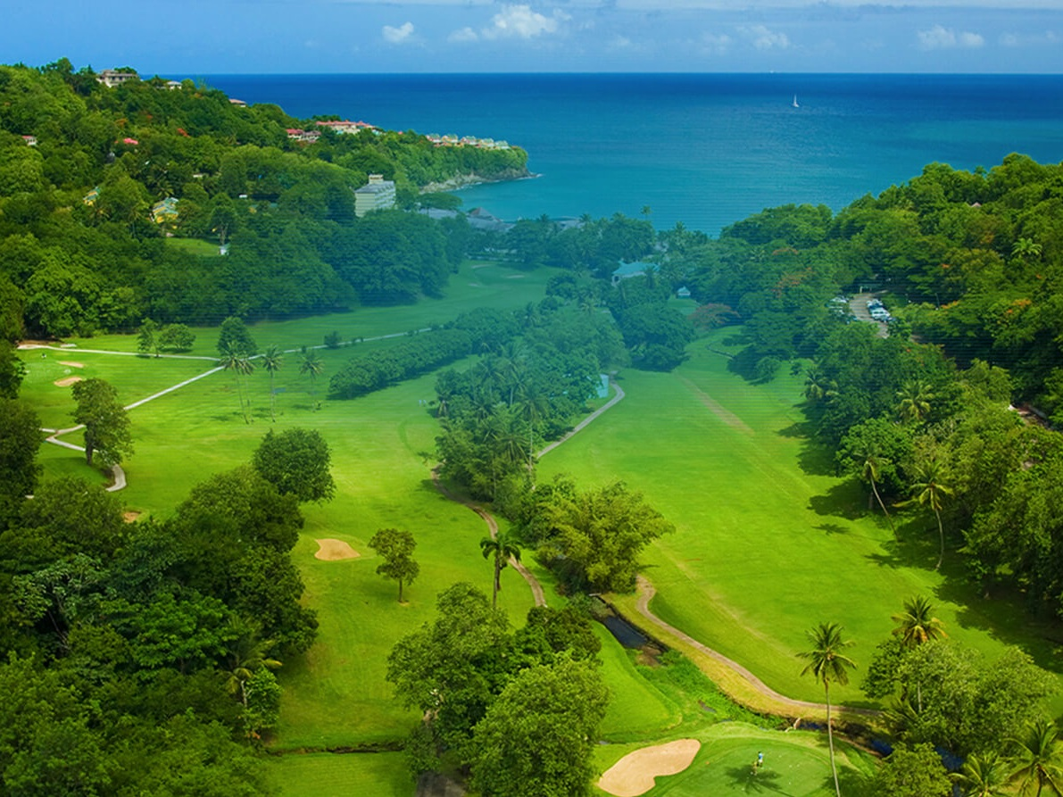 Golf at Sandals Resort - Sandals will be your host and all your luxury accommodations at Sandals Grande St. Lucian Beach Resort will be paid for and will include 5-star Global gourmet dining, drinks, entertainment, activities, tips, transfers, and of course - golf !