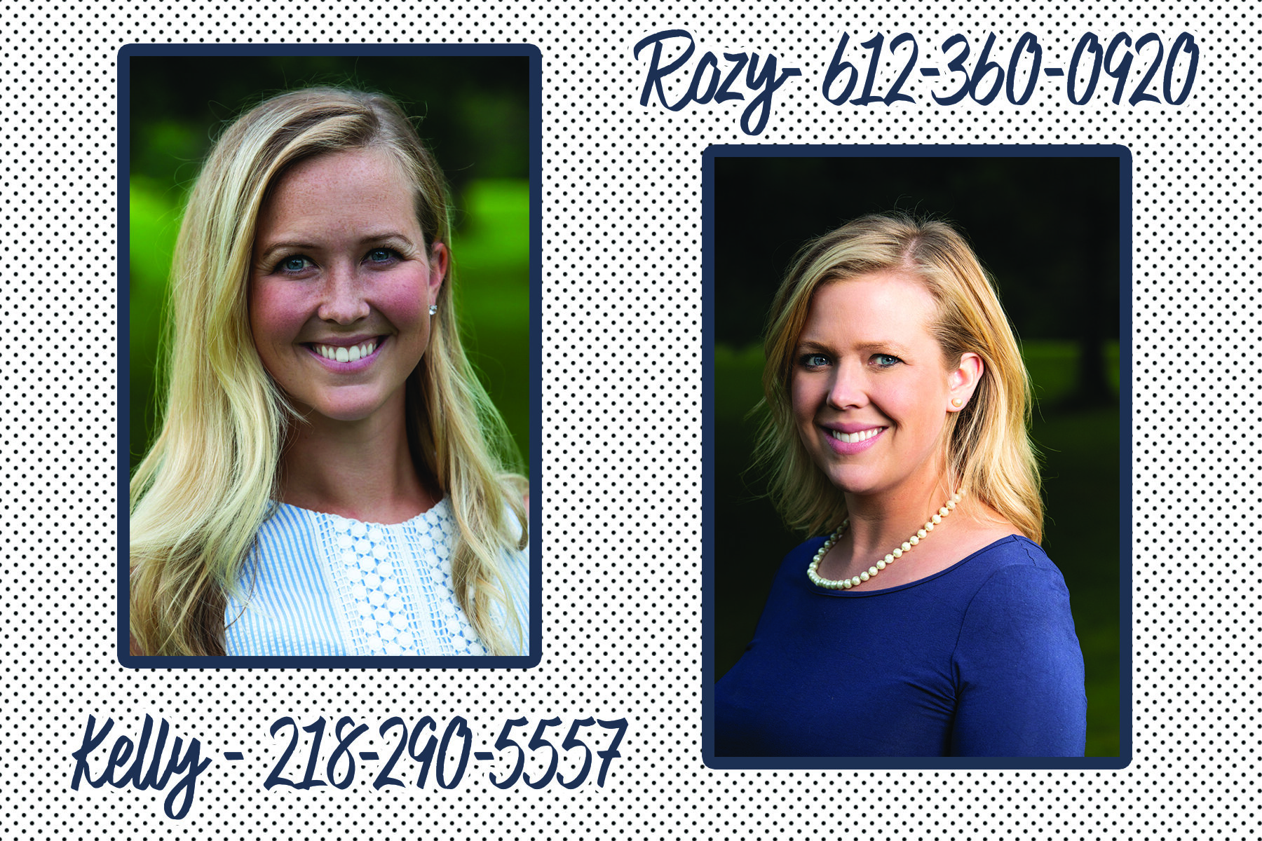 Let's create something beautiful! - Hello! We are sisters, Kelly & Rozy. We would love to help make your event something special, beautiful and unique for you!Give either of us a call and we'd love to chat about your upcoming wedding, party or event!Rozy - 612-360-0920 and Kelly 218-290-5557