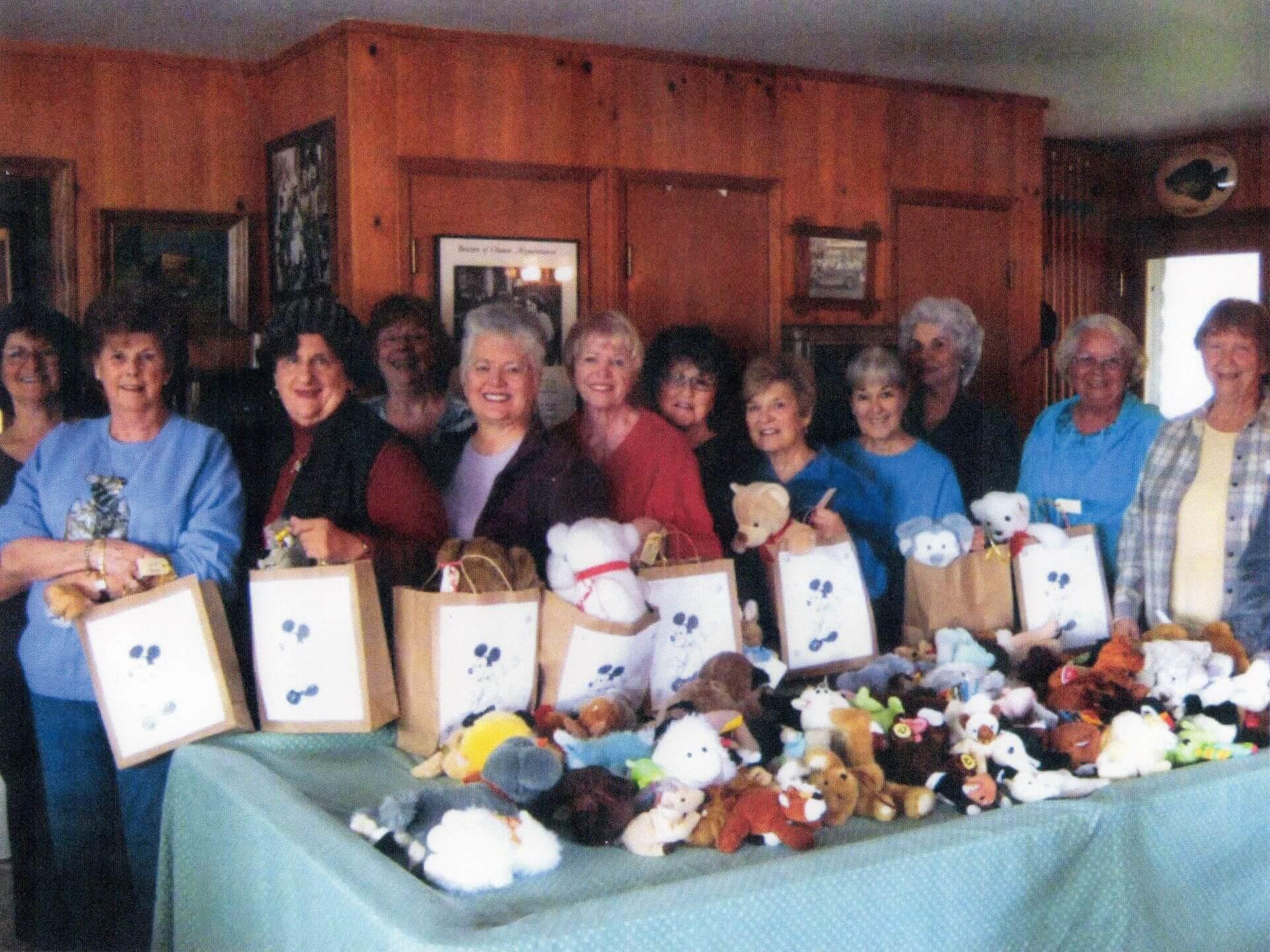 Assembling Bags for the Battered Women's Shelter