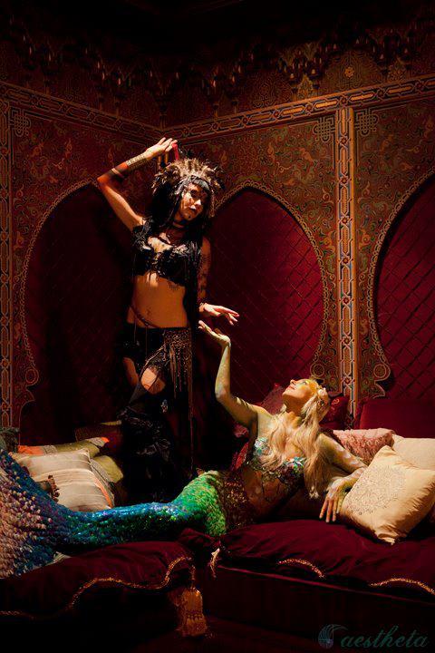Temple dancer & The Siren