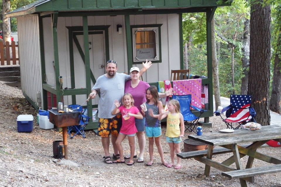 Camping in Cabins in Branson, MO