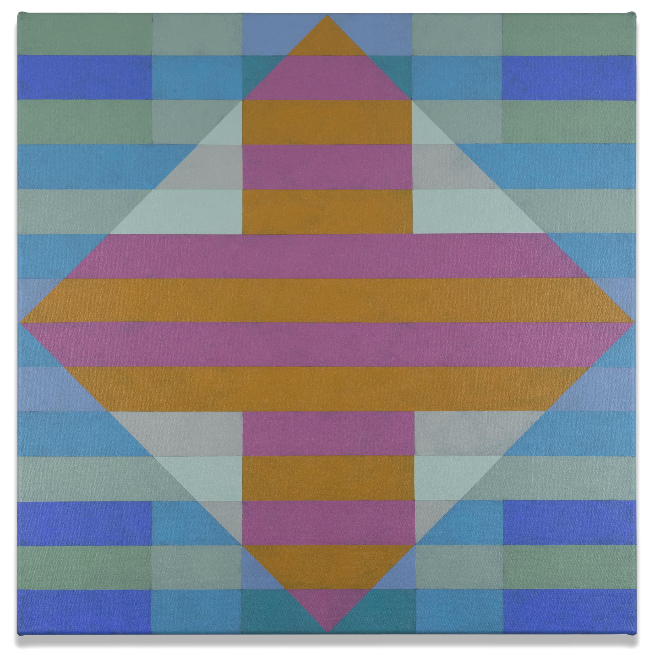 Qualia 414  acrylic on canvas 24 x 24 inches 2017