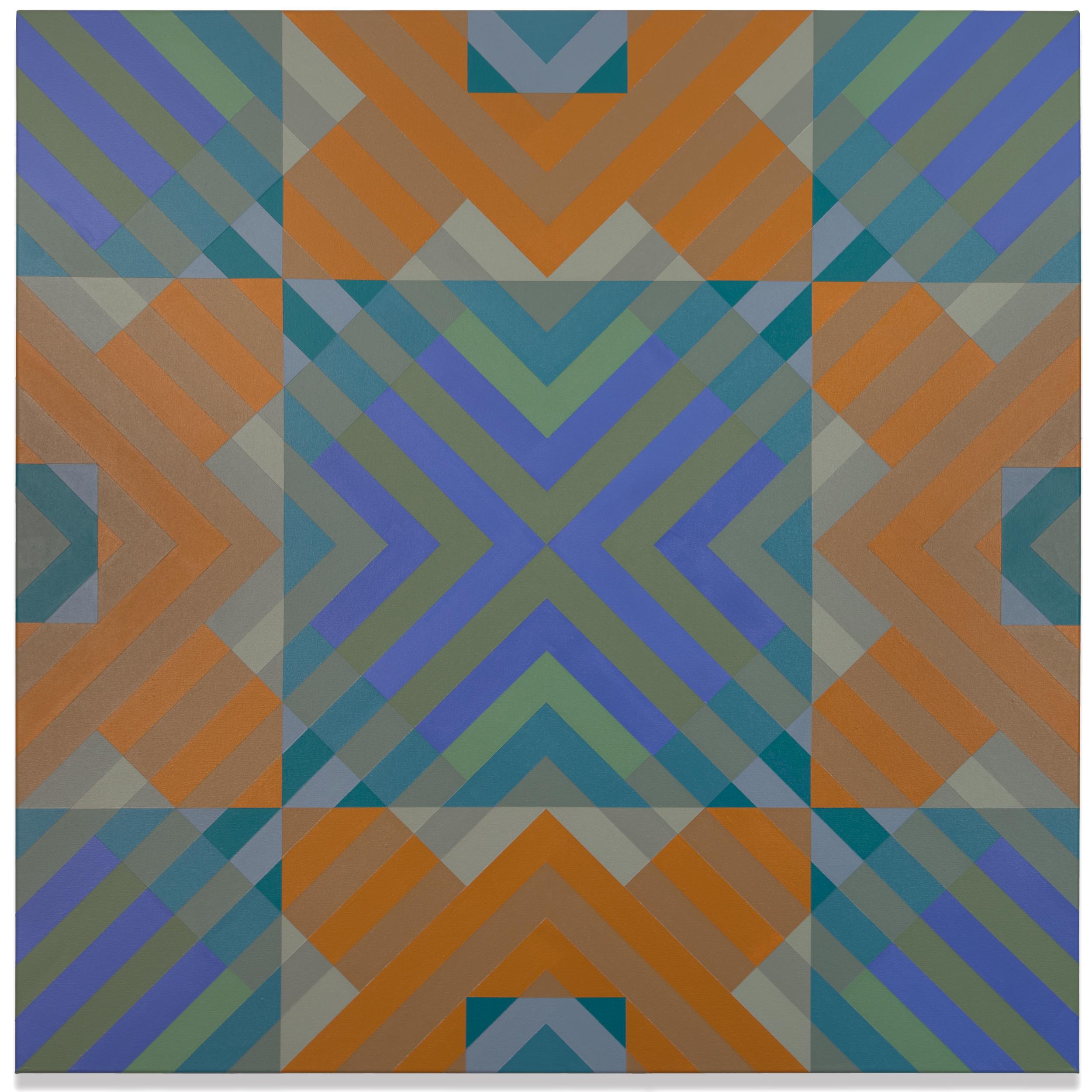 Qualia 415  acrylic on canvas 48 x 48 inches 2017