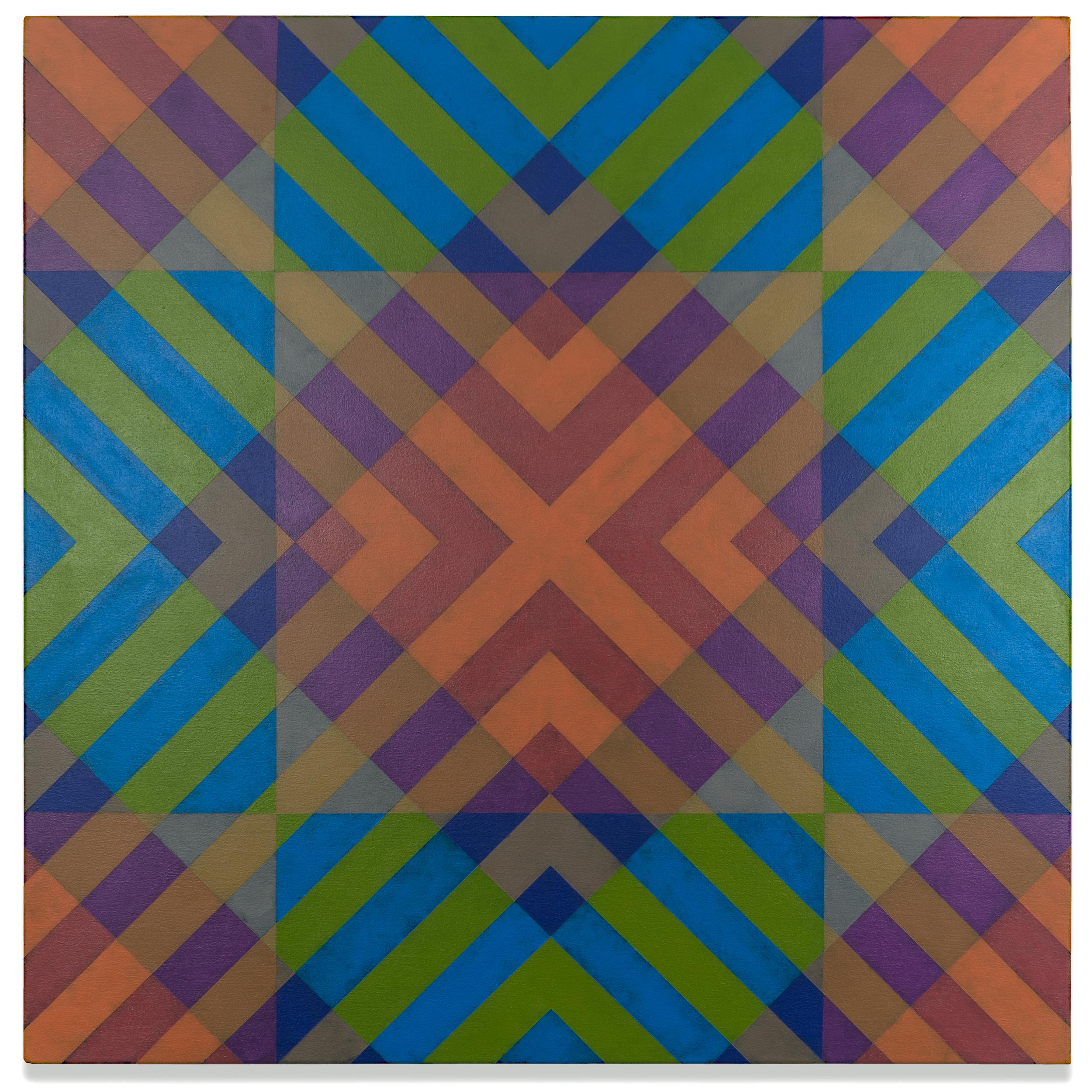 Qualia 462  acrylic on canvas 36 x 36 inches 2017