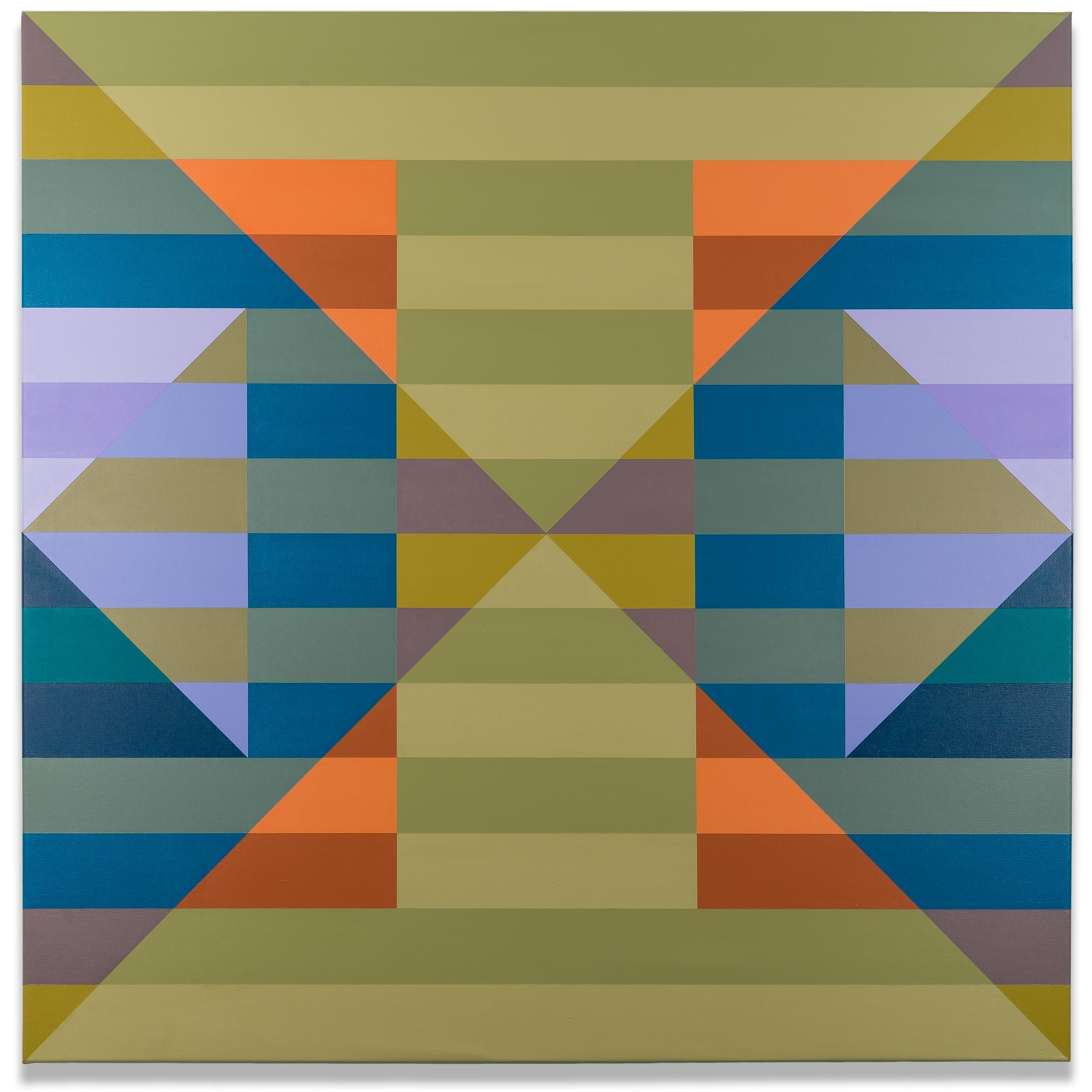 Qualia 160 acrylic on canvas 48 x 48 inches 2016