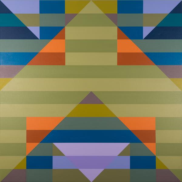 Qualia 260  acrylic on canvas 48 x 48 inches 2016