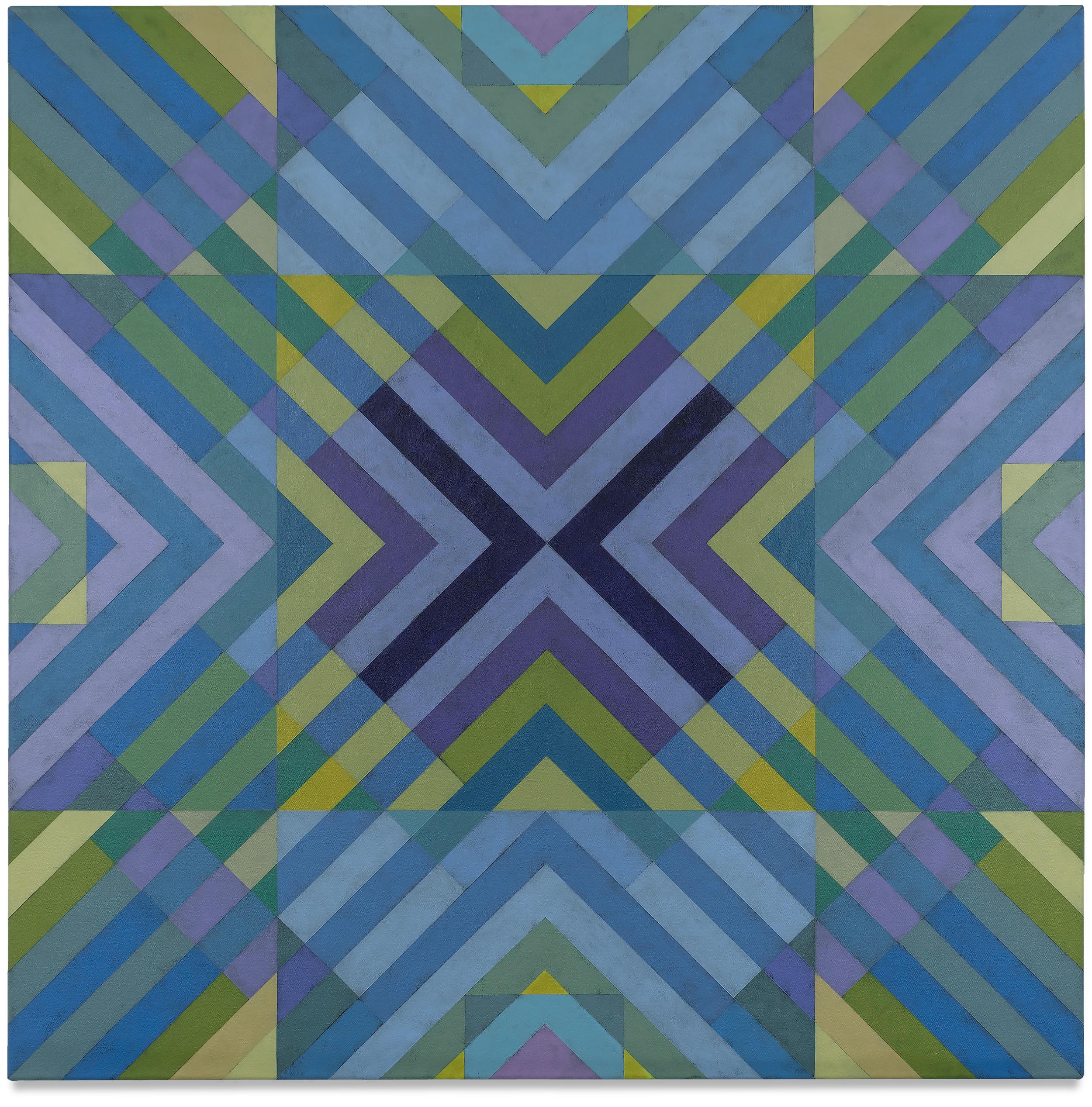 Qualia 513  acrylic on canvas 36 x 36 inches 2017
