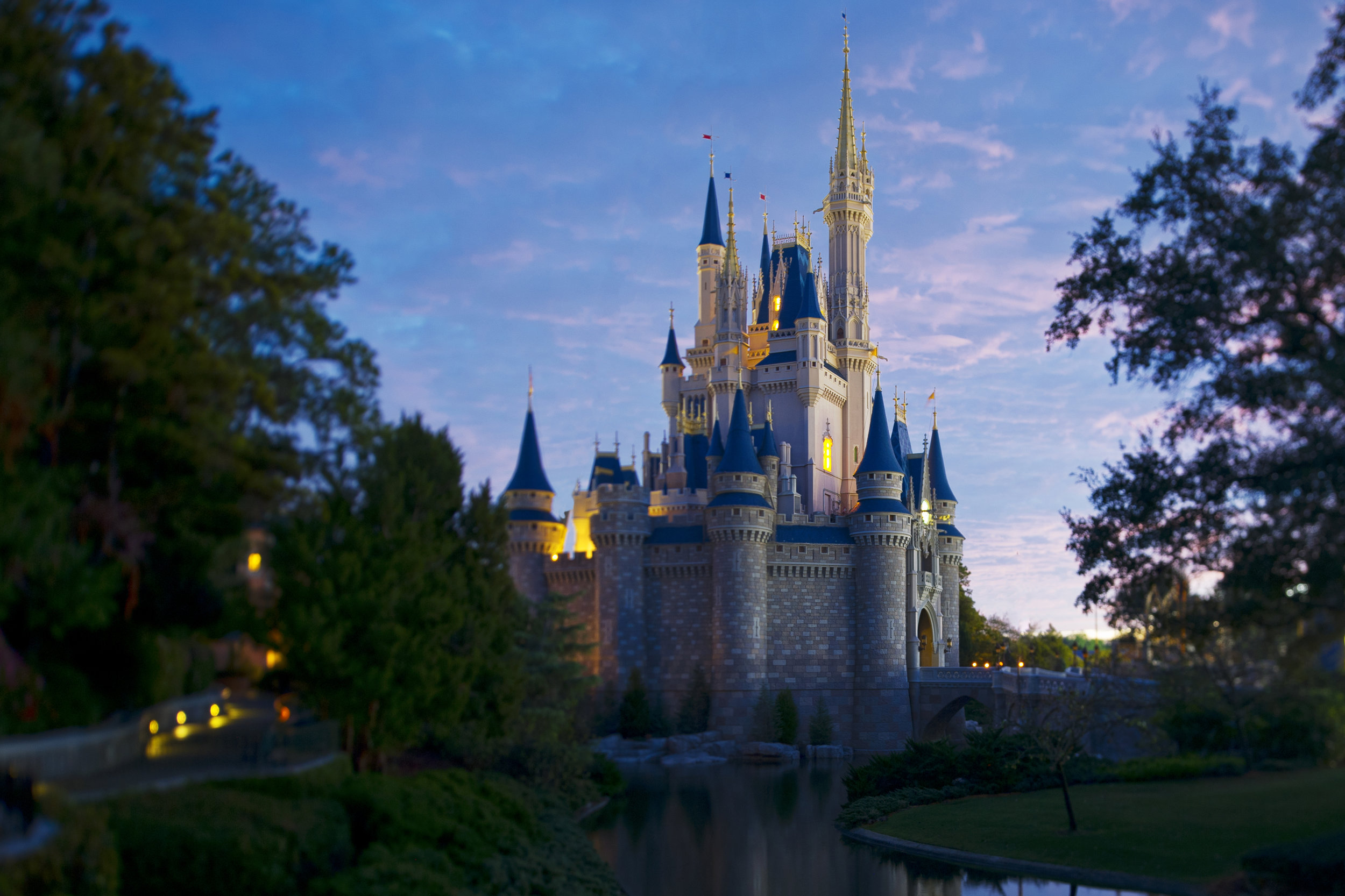 Walt Disney World - With four theme parks, two water parks, and over 25 resort hotels, you're never far from the excitement!