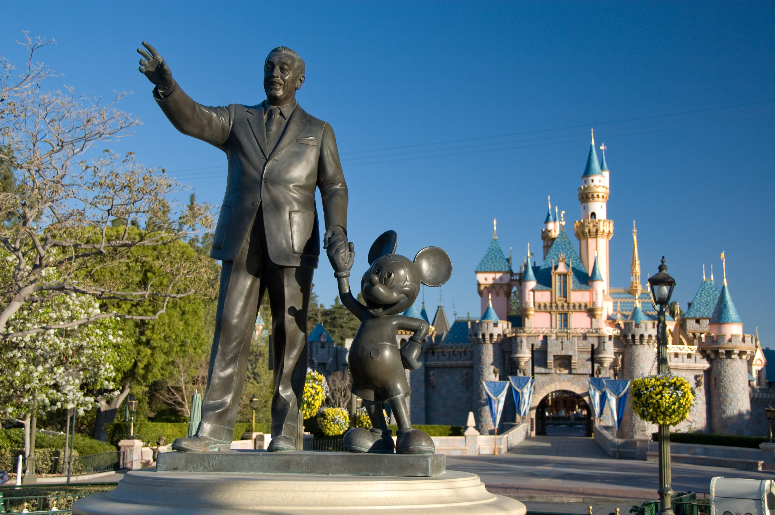 """Disneyland - Come experience Walt's original lands where """"you leave today and enter the world of yesterday, tomorrow, and fantasy."""""""