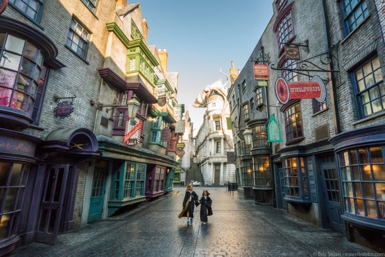 Universal Orlando - With two theme parks including the Wizarding World of Harry Potter and an amazing water park, there's fun for the whole family!