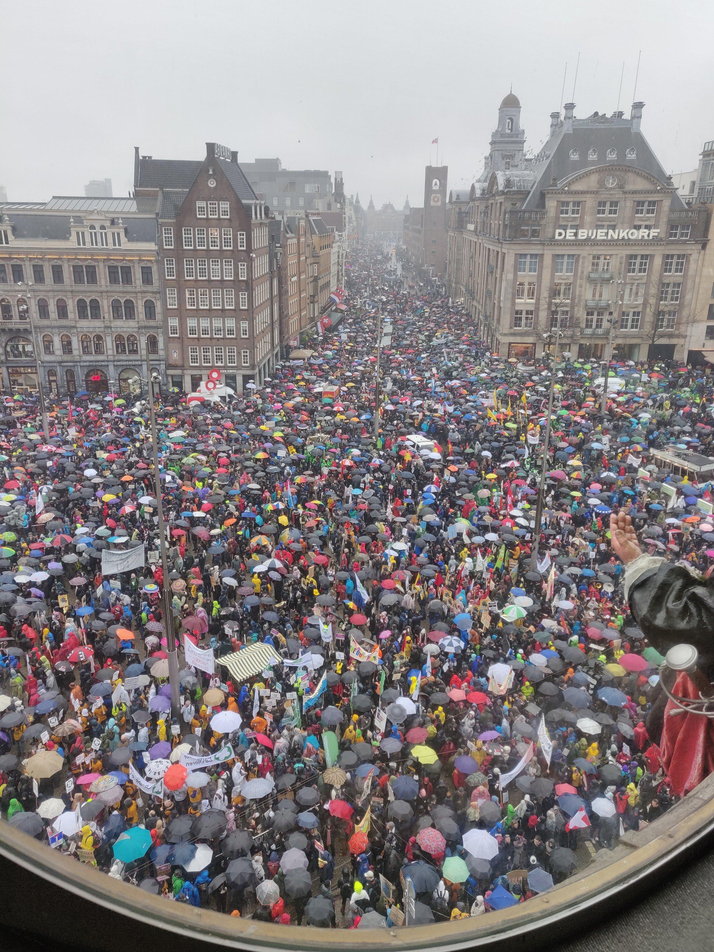 10 maart 2019 - De grootste klimaatdemonstratie van Nederland