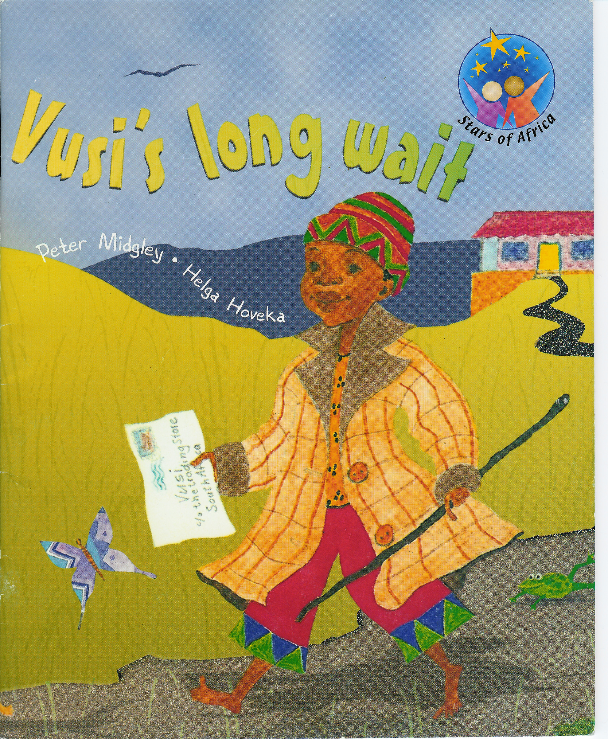 Vusi's Long Wait - 1996 24 pages | ISBN 9780636046160Vusi's father goes away to work on the mines for a year. Vusi wishes the year would pass more quickly...You can buy Vusi's Long Wait directly from my online store.