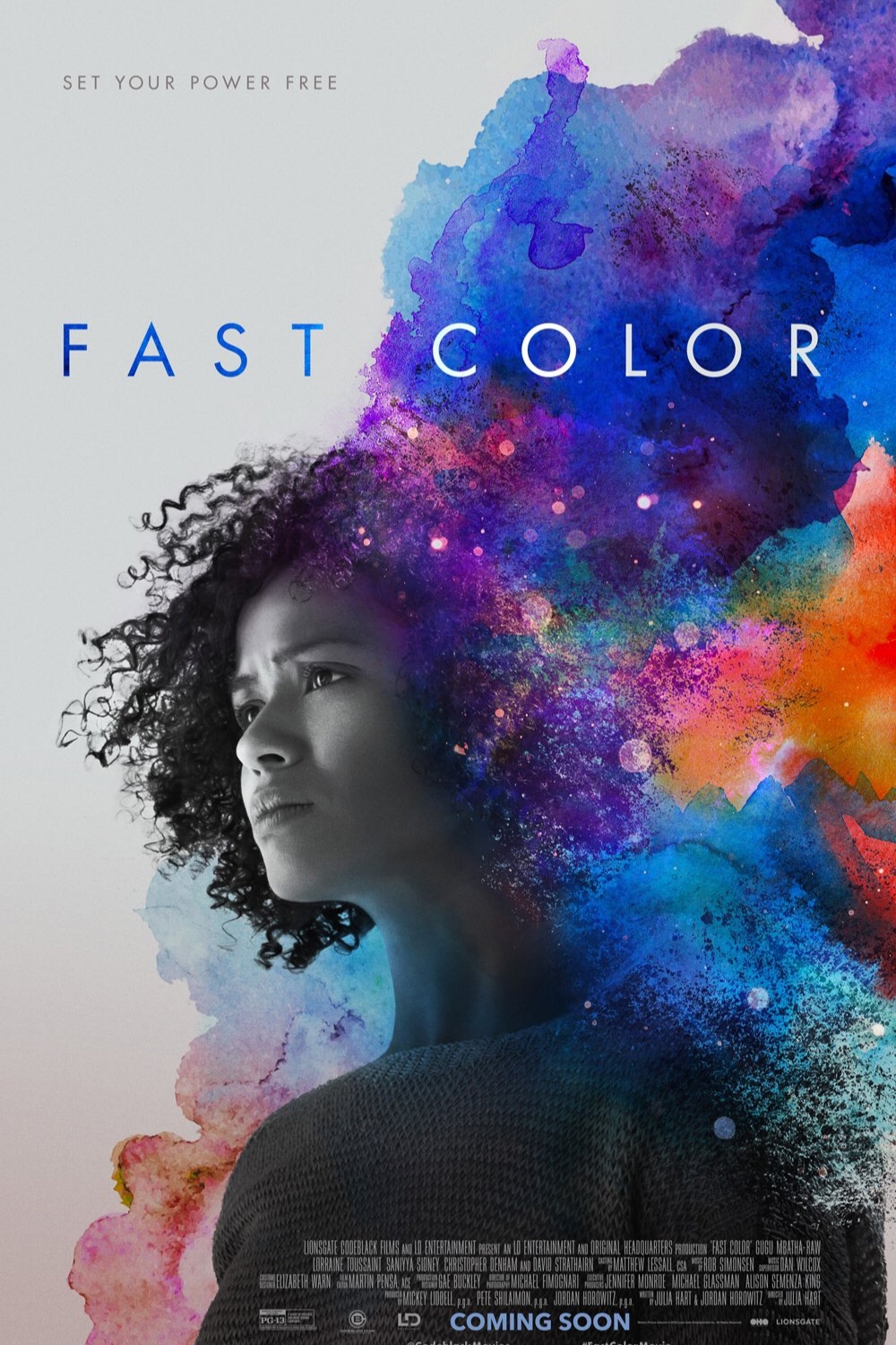Theatrical Release Poster for Fast Color, Lionsgate, 2019.