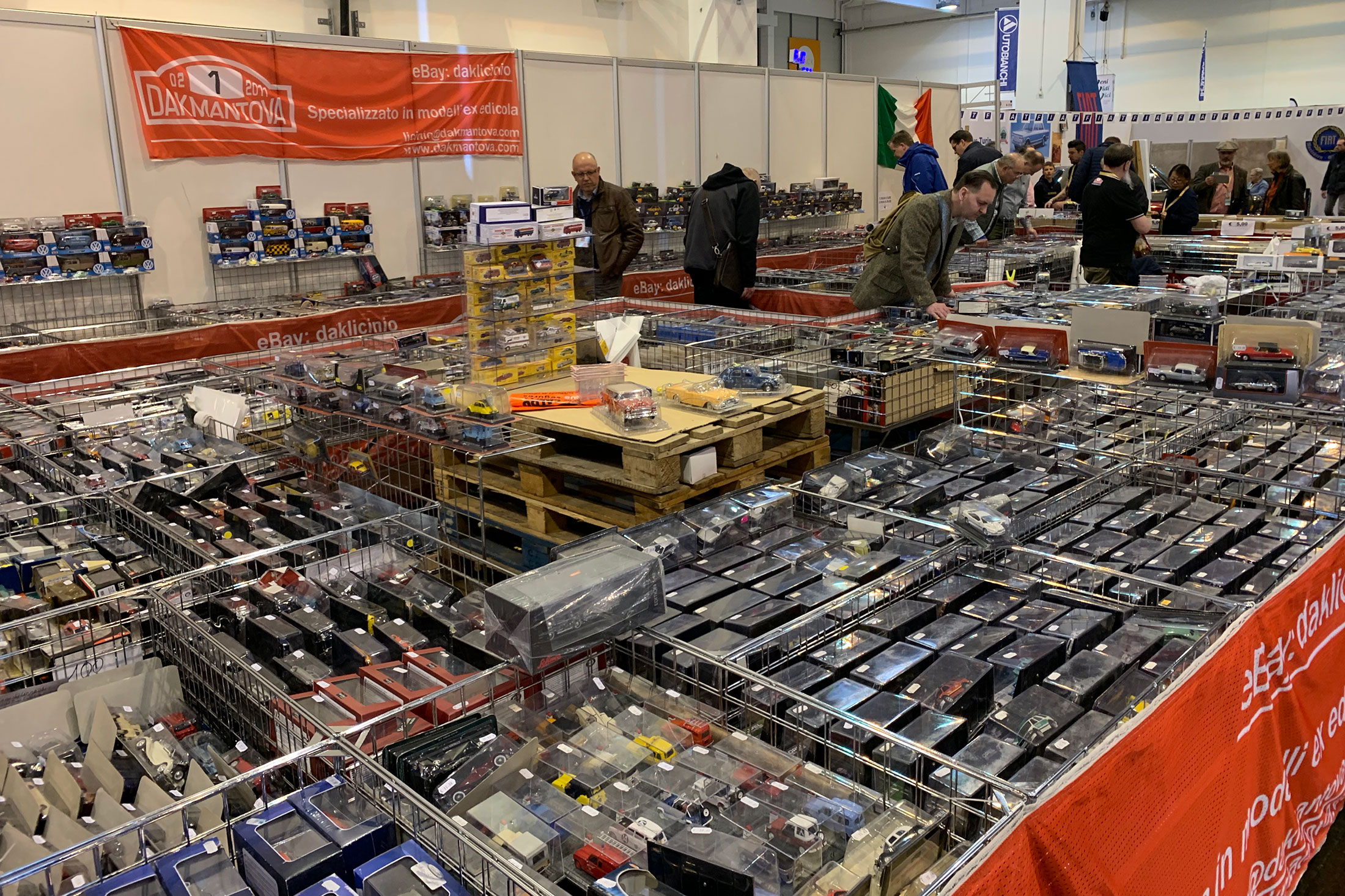 As mentioned previously, so much to buy at this show - huge stalls of diecast EVERYWHERE. I'm actually surprised I didn't bring back much LOL. I was on my best behavior.