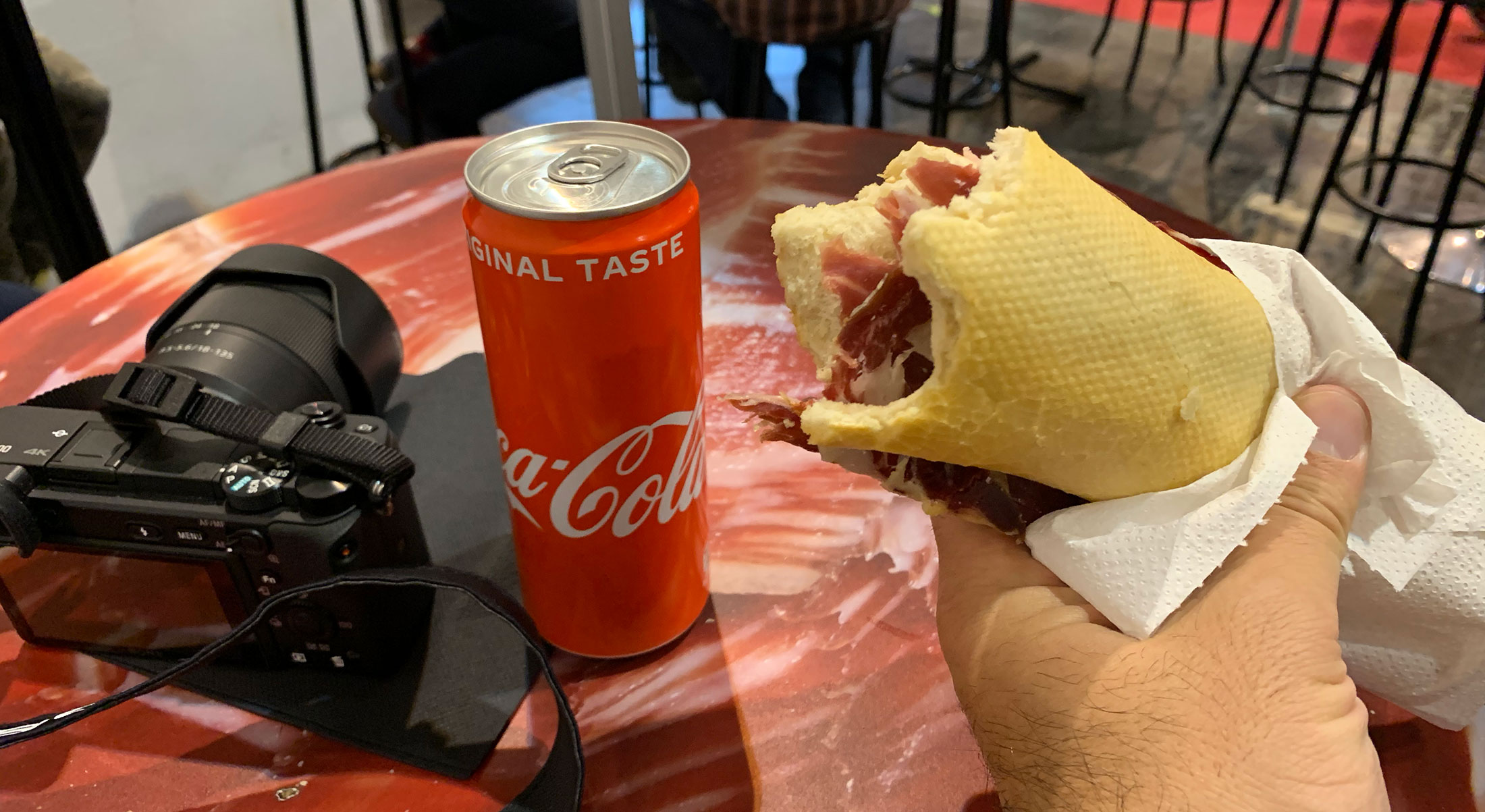 Did I mention how great this sandwich was? Prosciutto and bread - so simple yet so amazing. I had it both days for lunch LOL. 10E with drink IIRC. I've gone to EATALY here in LA trying to duplicate it…not quite the same, but will have to do until I go back.