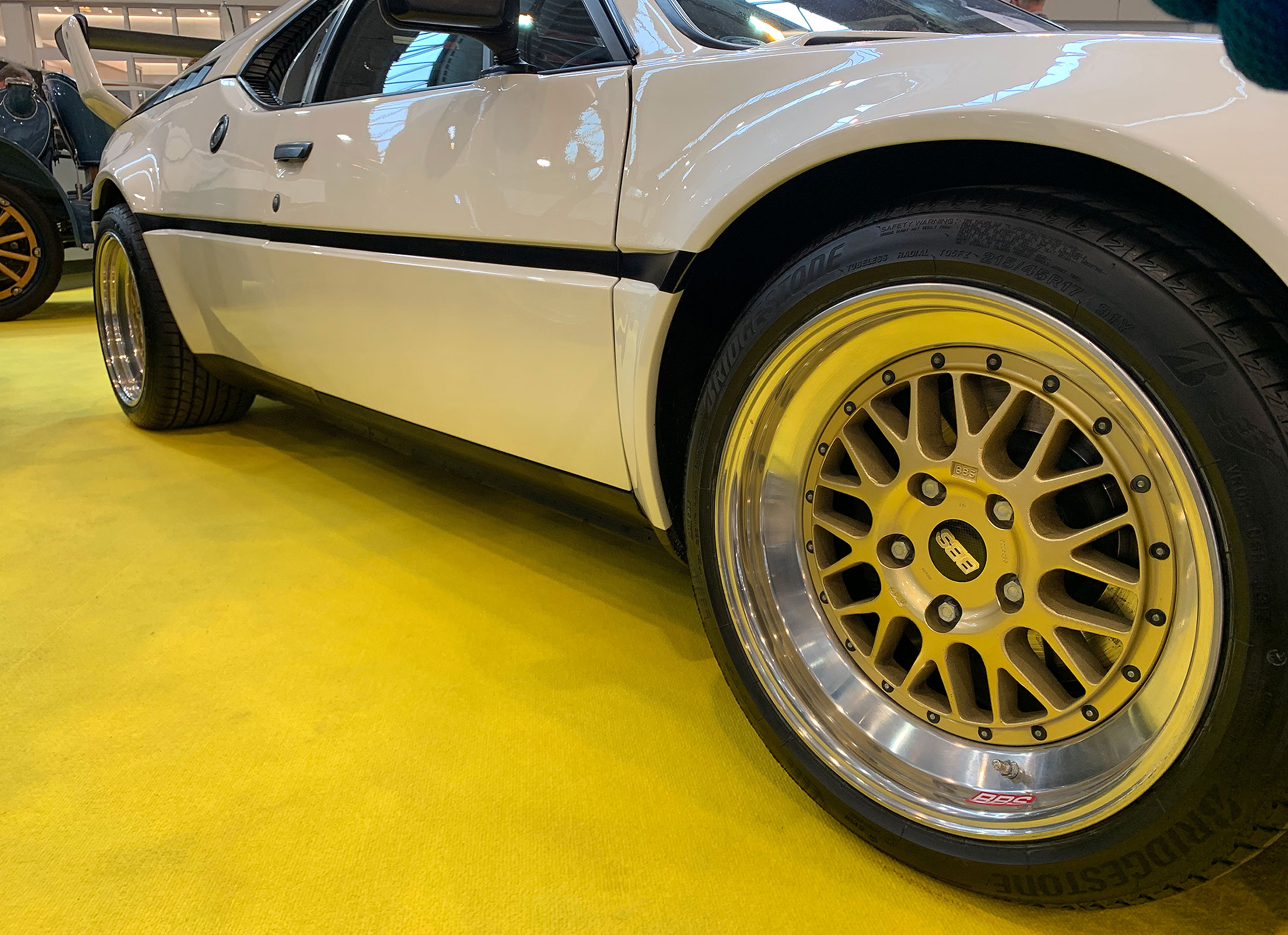 A closer look at that BBS goodness…I'm assuming these are LM's.