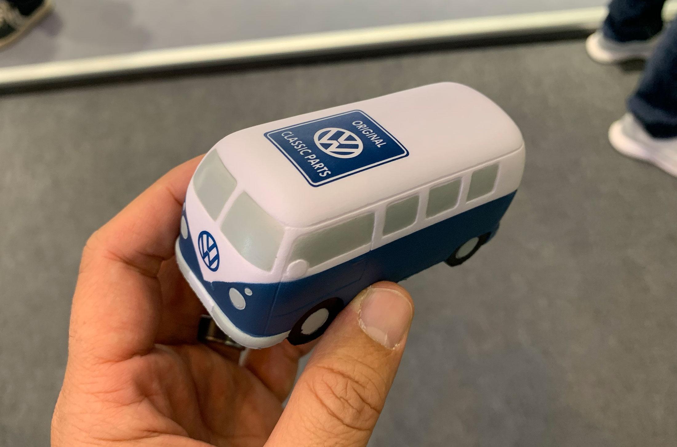 I won!! - Mini VW Squishy Bus. LOL!