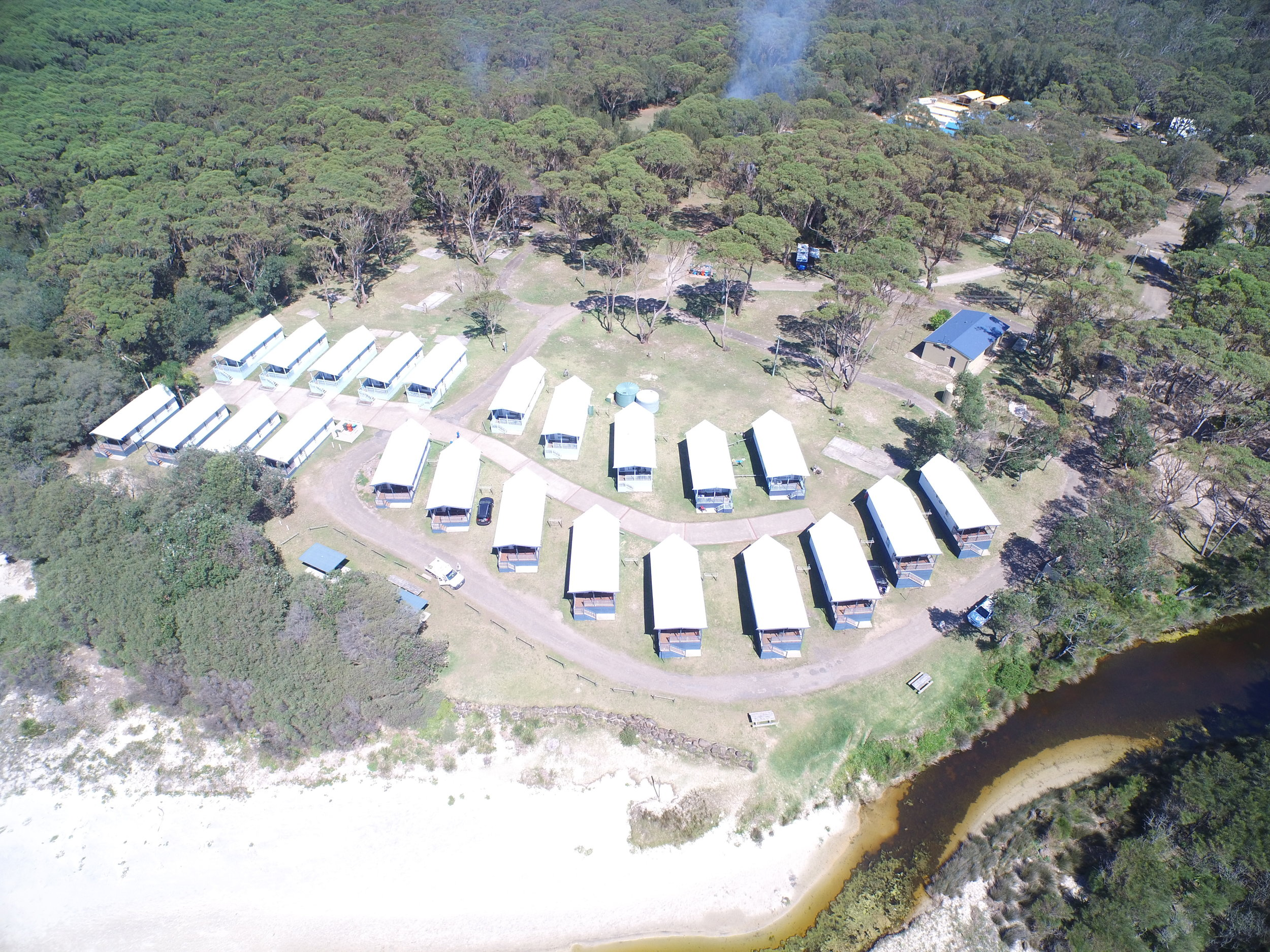 Cabin and land packages - Love our cabins but need a place to put them? We have arrangements with various holiday parks throughout NSW