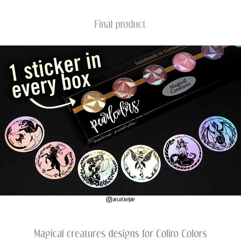 Coliro Colors - Magical Creatures