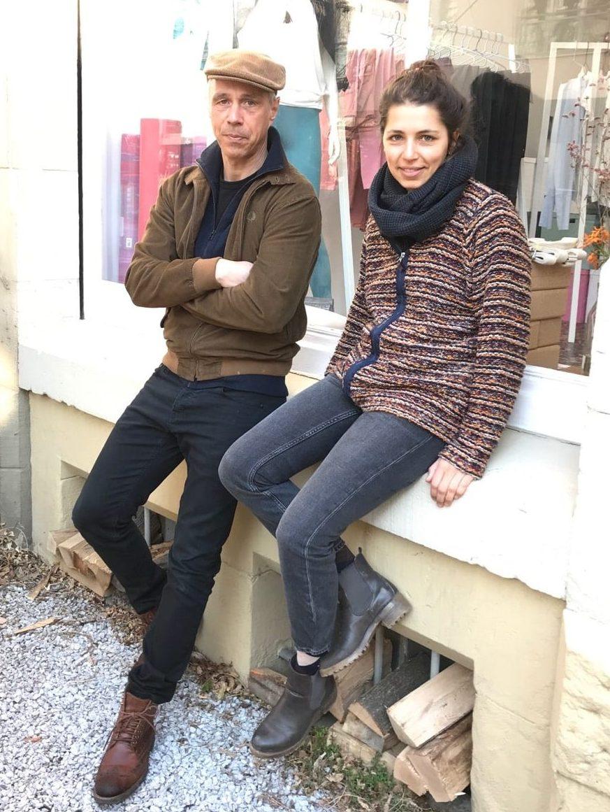 Alex und Isa - Gründer und Mitarbeiterin von Yoiqi.