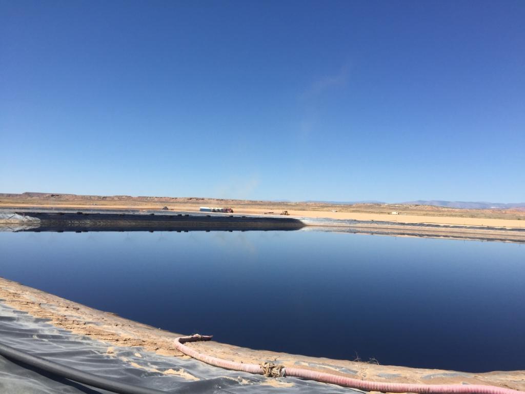 Evaporation Pond
