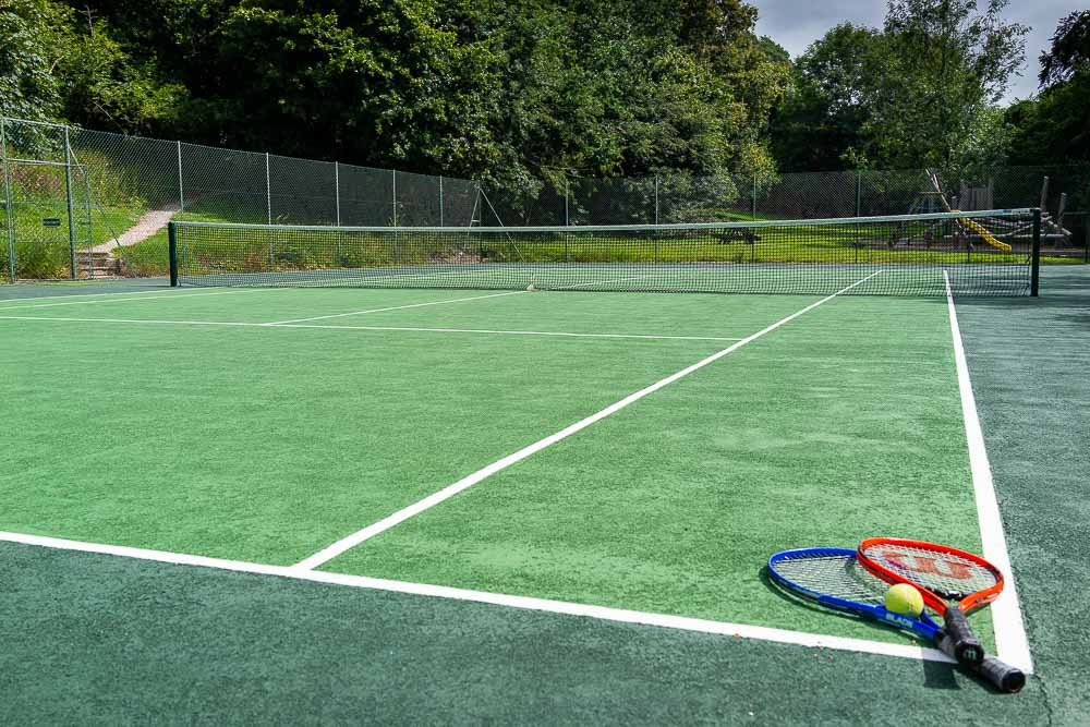 Flear Farm Cottages ITF Regulation Sized Tennis Court is perfect for a game or two, rackets and balls are available for free at the office.