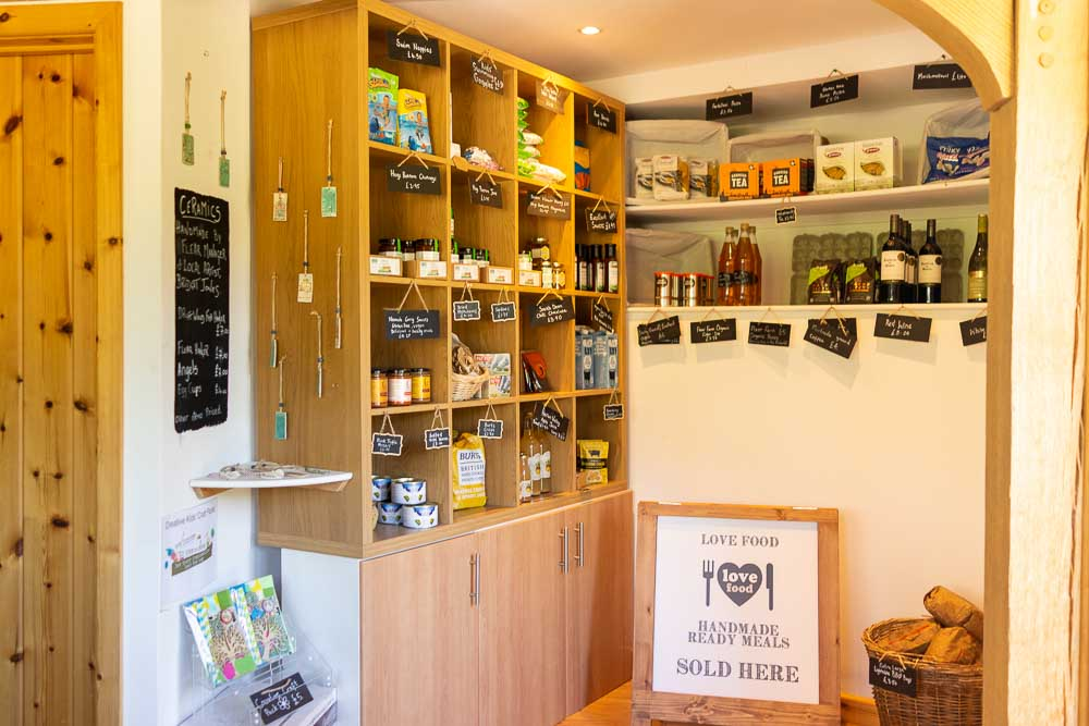 A helpful selection of items are available at Flear Farms Honesty shop. Perfect for those small things you may have forgotten or a small treat when your sweet tooth calls.