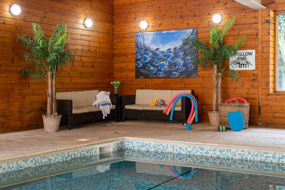The large indoor pool at Flear Farm Cottages is a perfect place to enjoy time in the water. We offer swimming lessons to help little ones enjoy their time in the pool as much as possible.