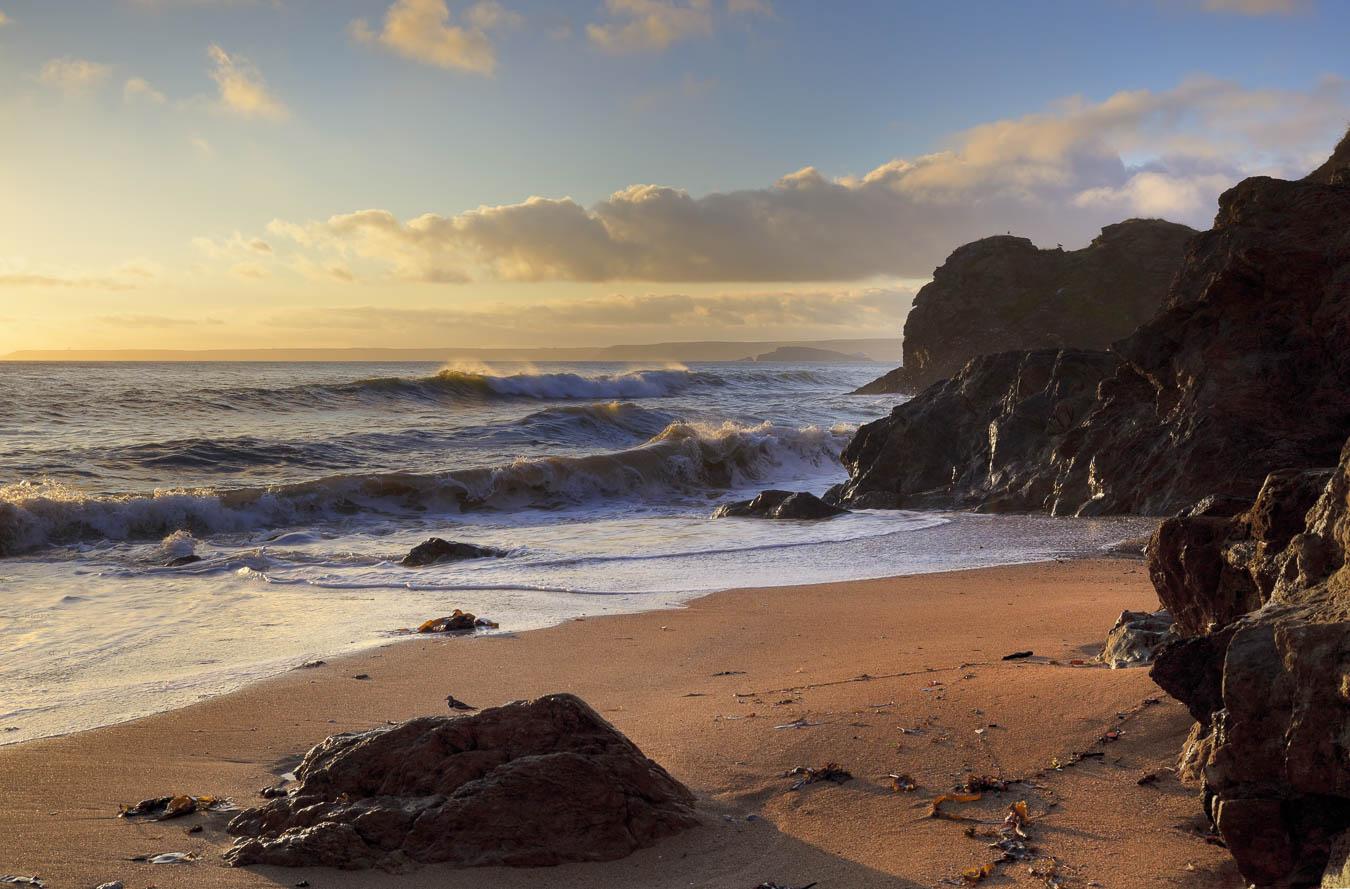 Hope Cove, Outer Hope Beach. South Hams, Devon.